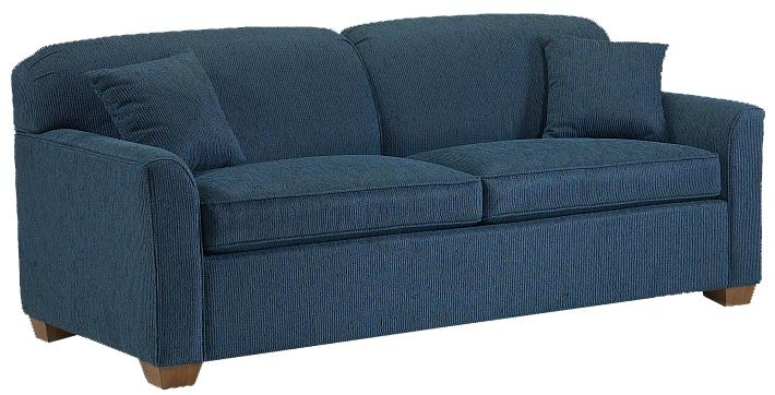 2200 Short Sofa by Lancer at H.L. Stephens