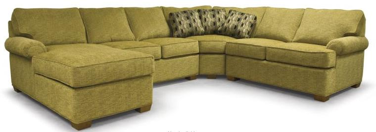 310 Transitional Sectional by Lancer at Westrich Furniture & Appliances