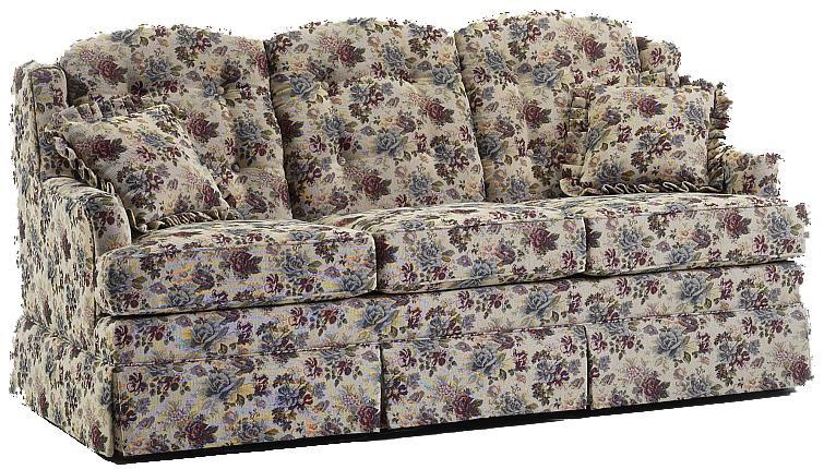 600 Short Length Sofa by Lancer at Westrich Furniture & Appliances