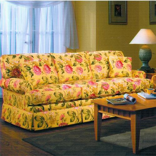 6220 Queen Sleeper by Lancer at Westrich Furniture & Appliances