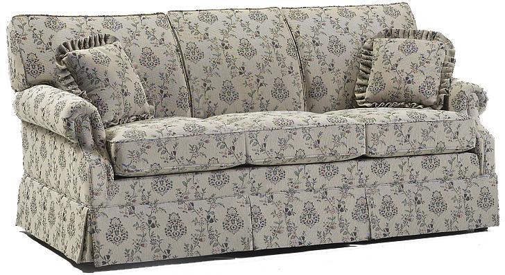 650 Short Length Sofa by Lancer at H.L. Stephens