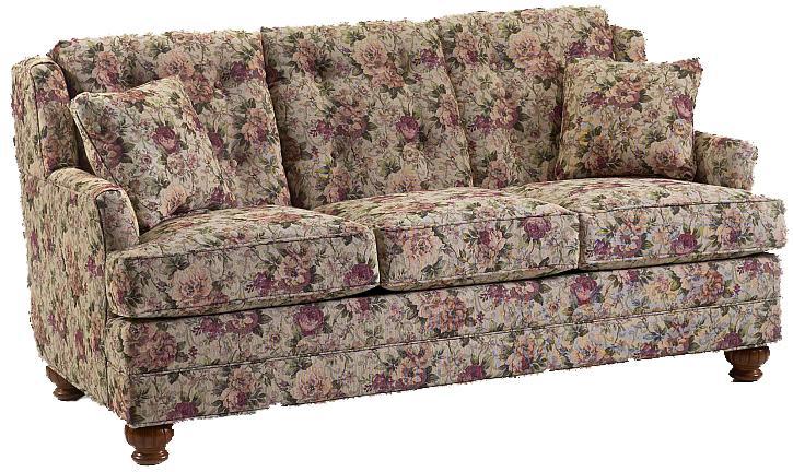 670 Short Length Sofa by Lancer at Westrich Furniture & Appliances