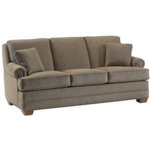 Transitional Sofa with Lawson Rolled Arms