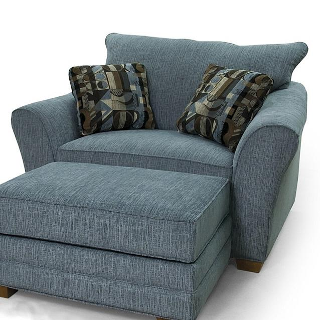 90 Chair & 1/2 by Lancer at Westrich Furniture & Appliances