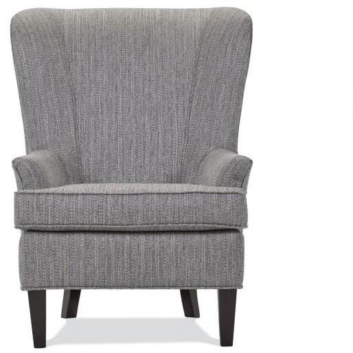 Stand Alone Chairs Upholstered Chair by Lancer at H.L. Stephens