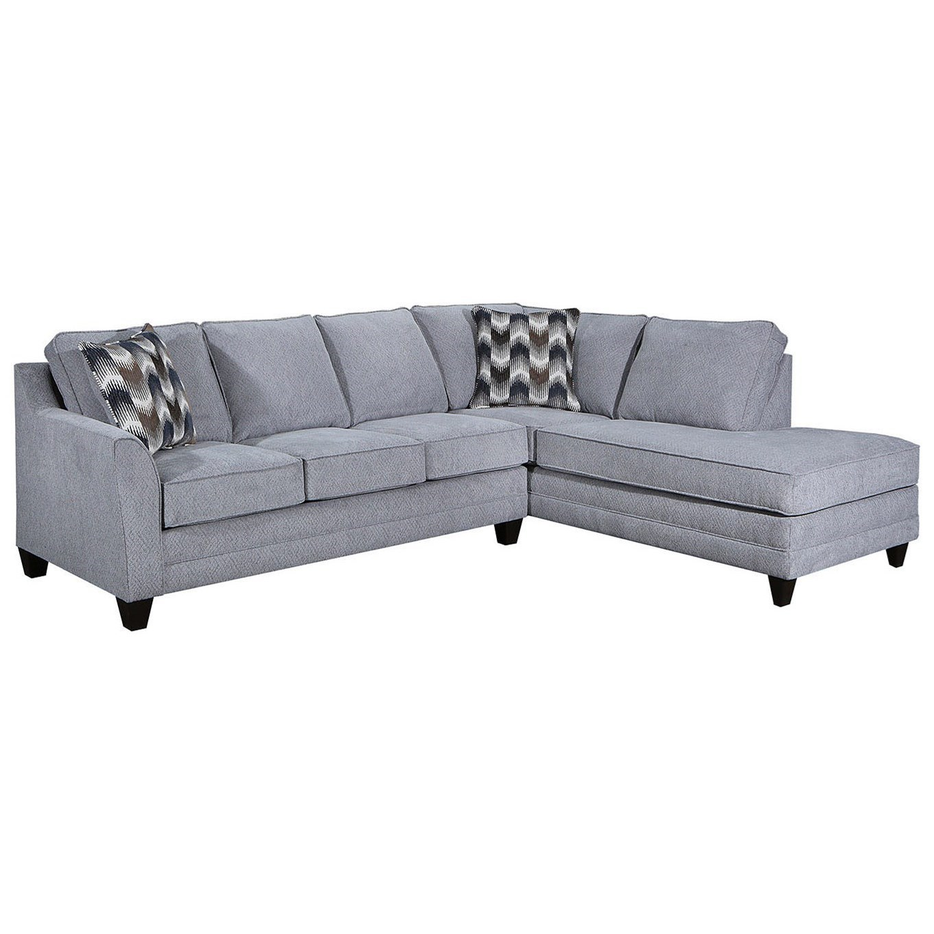 2013 2-Piece Sectional by Lane at Esprit Decor Home Furnishings