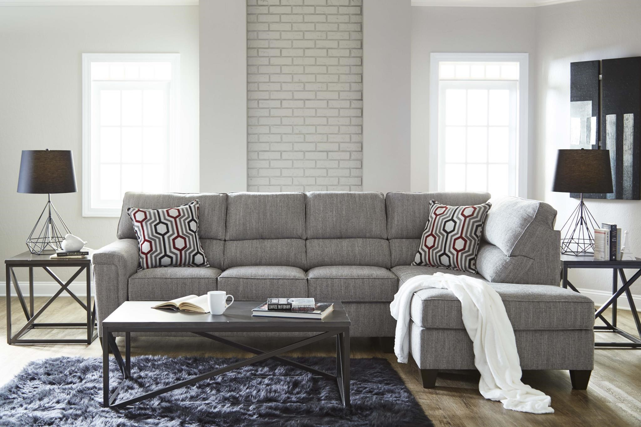 2015 2pc RAF Sectional Sofa by Lane at Del Sol Furniture