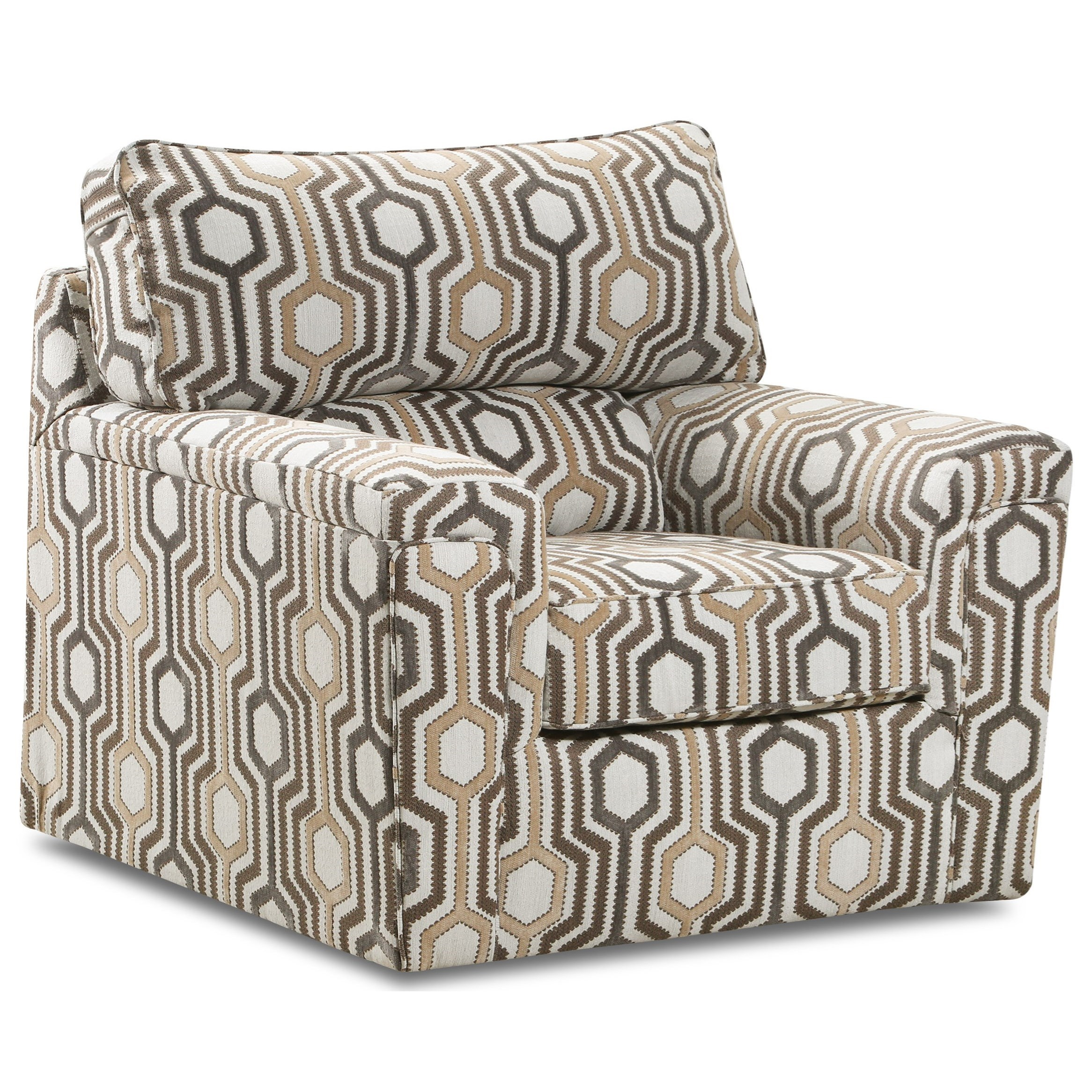 2015 Accent Swivel Chair by Lane at Powell's Furniture and Mattress