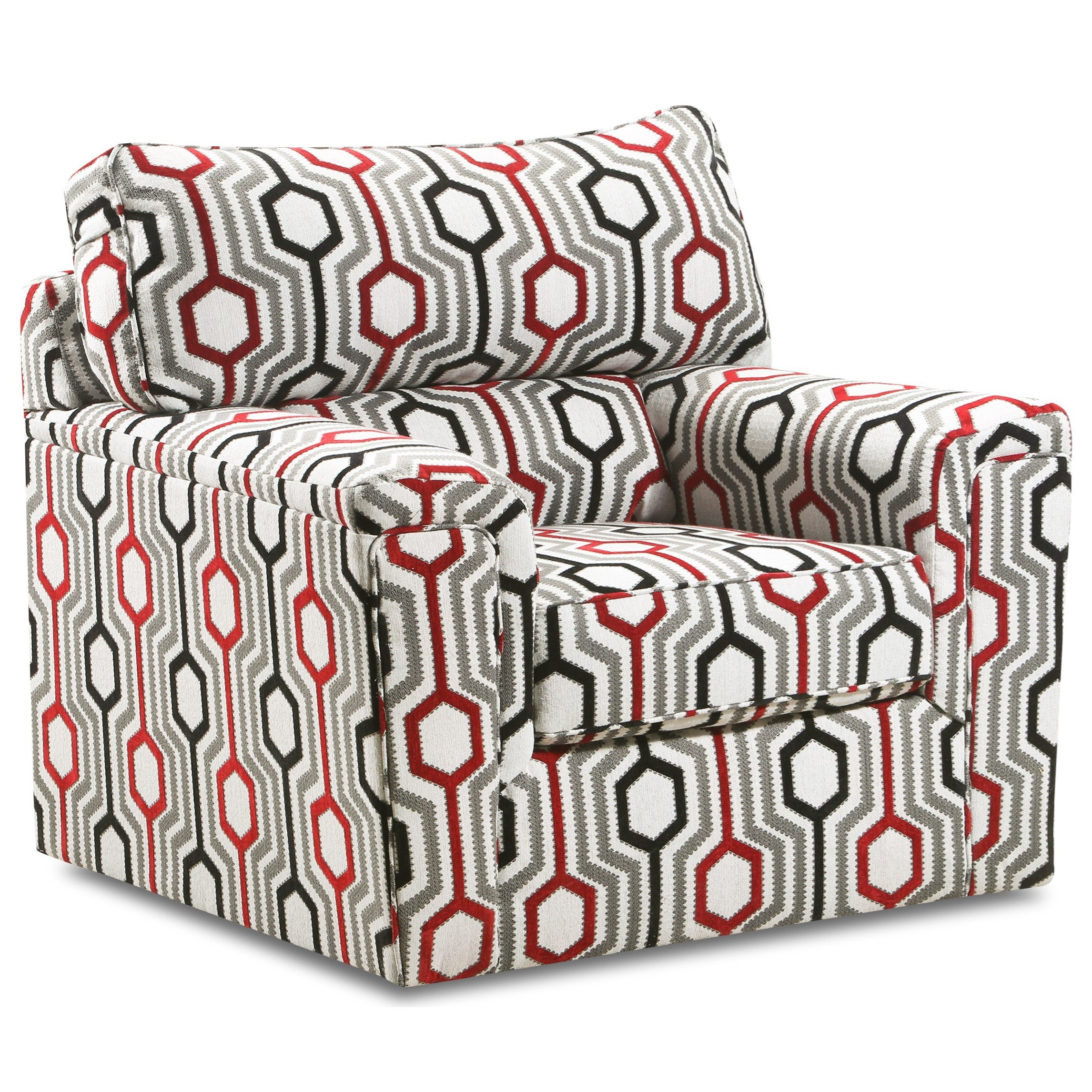 2015 Accent Swivel Chair by Lane at Story & Lee Furniture