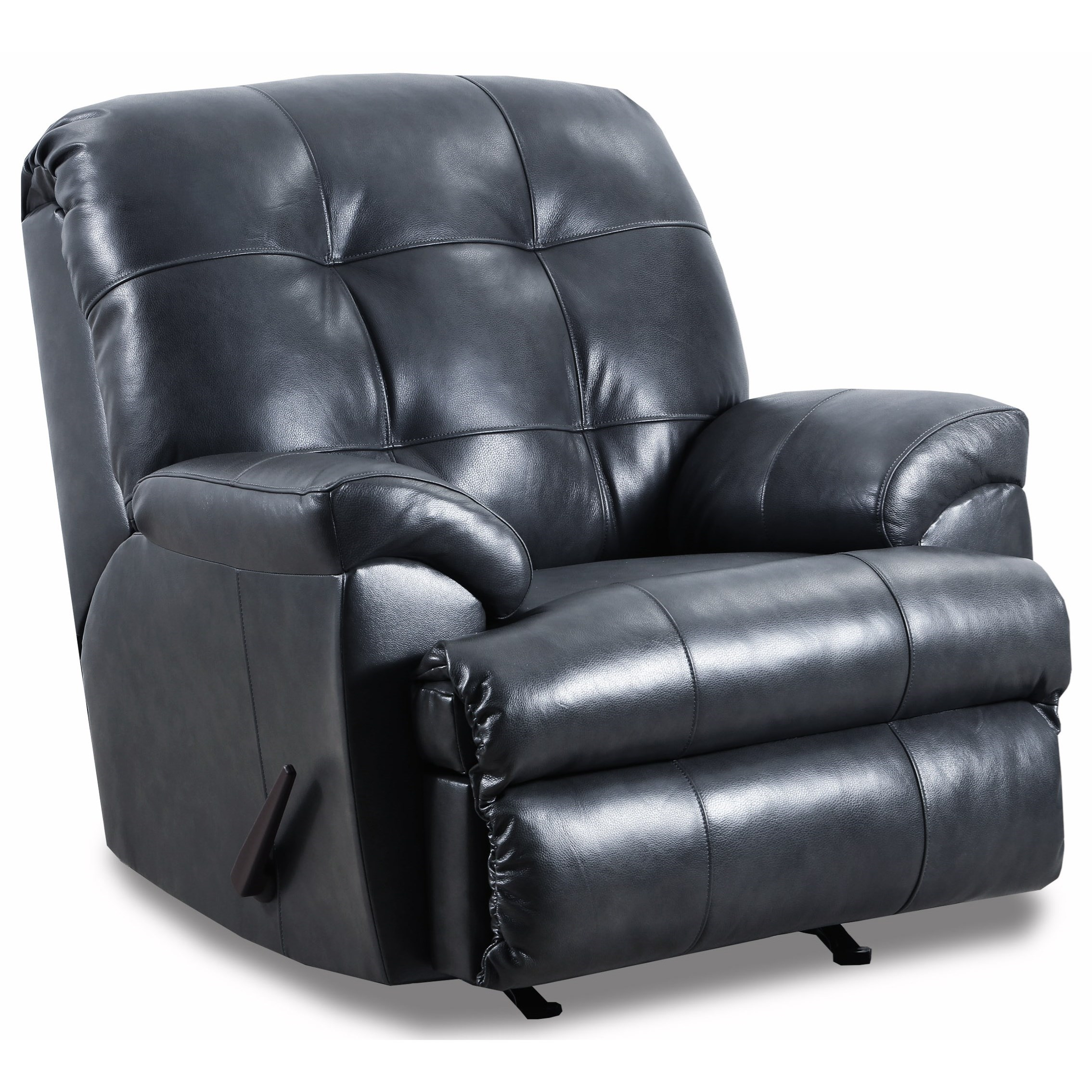 4101 Rocker Recliner by Lane at Powell's Furniture and Mattress