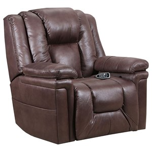 Casual Life Recliner with USB Ports and Outlets