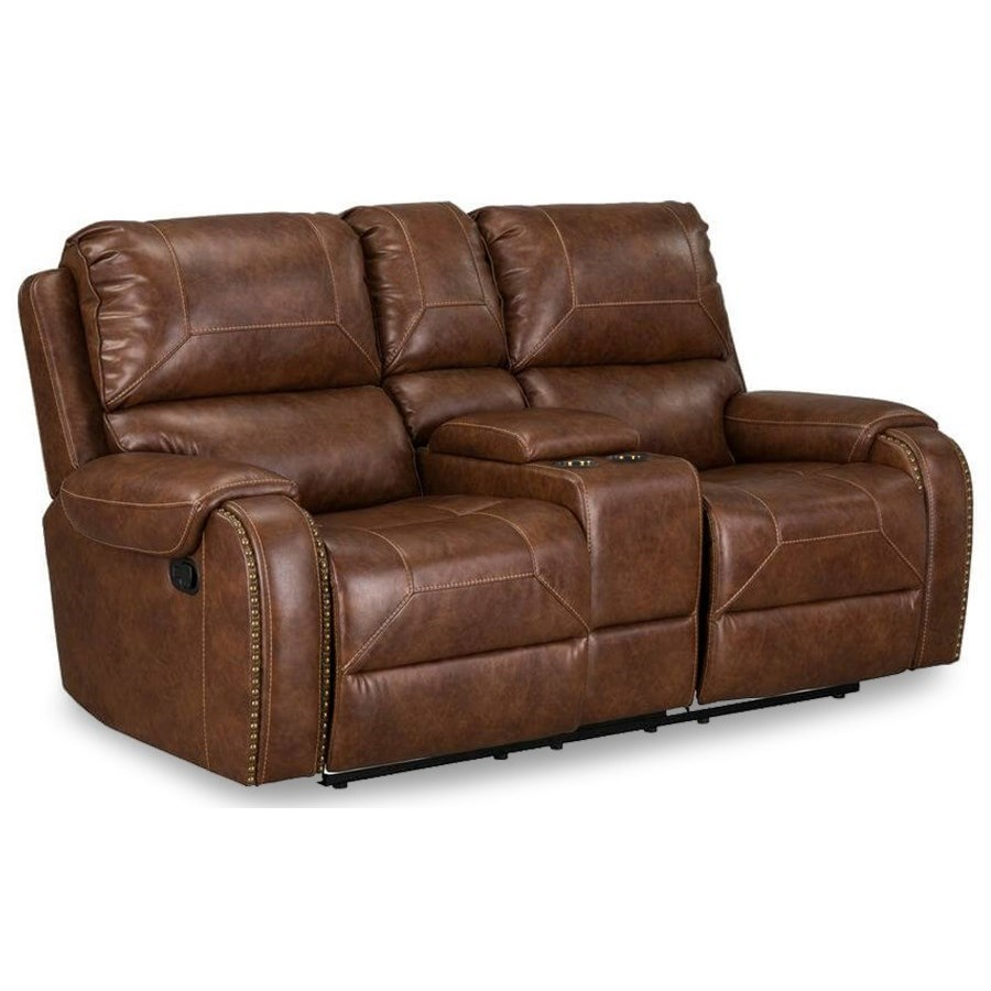 59931 Power Reclining Loveseat by Lane at Powell's Furniture and Mattress