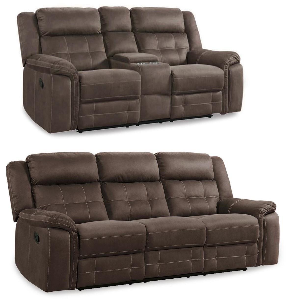 Keystone 2PC Reclining Sofa & Loveseat Set at Rotmans