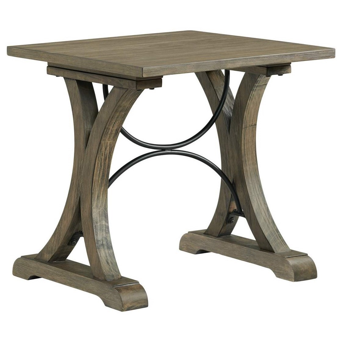 7047 End Table by Lane at Powell's Furniture and Mattress