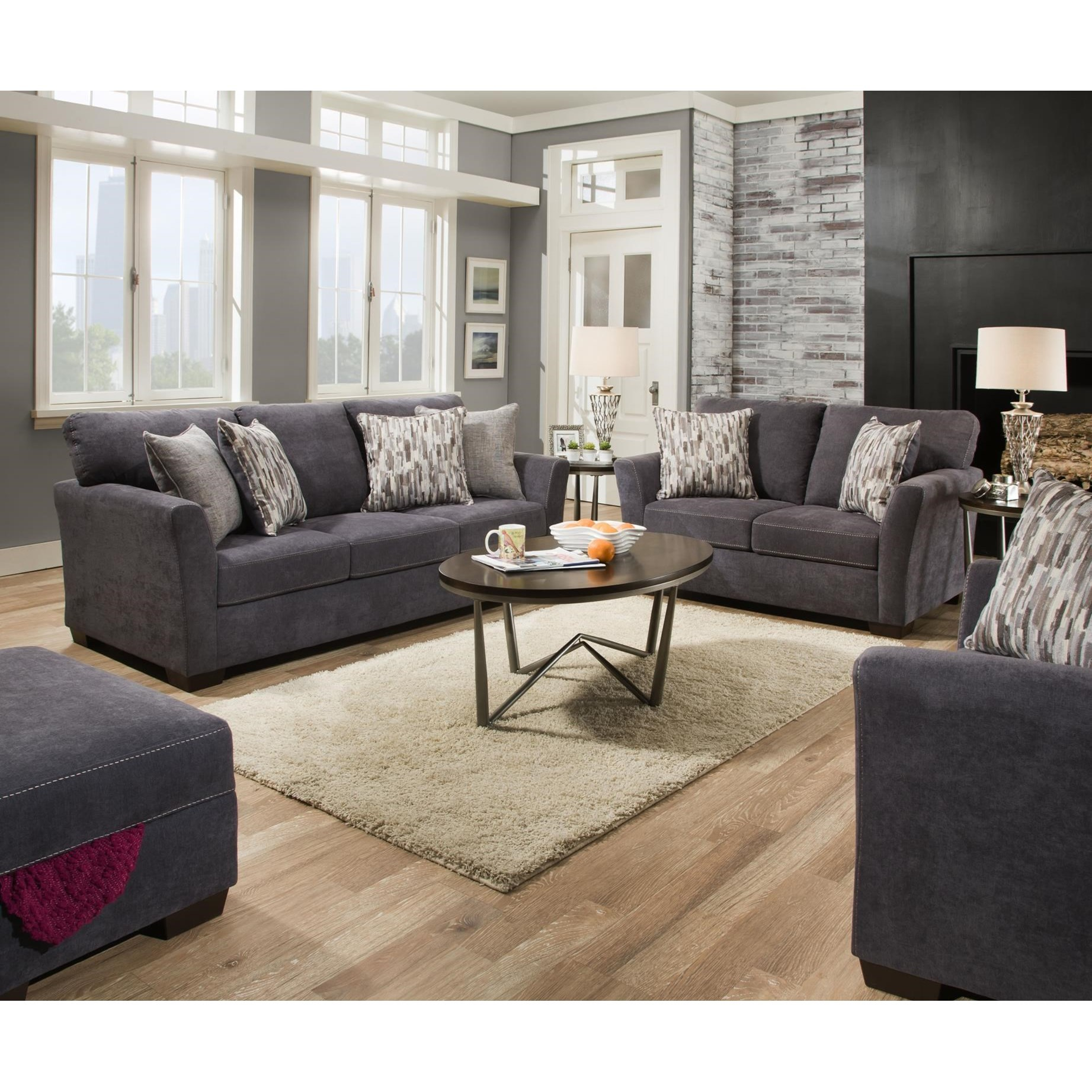 7058 Living Room Group by Lane at Esprit Decor Home Furnishings