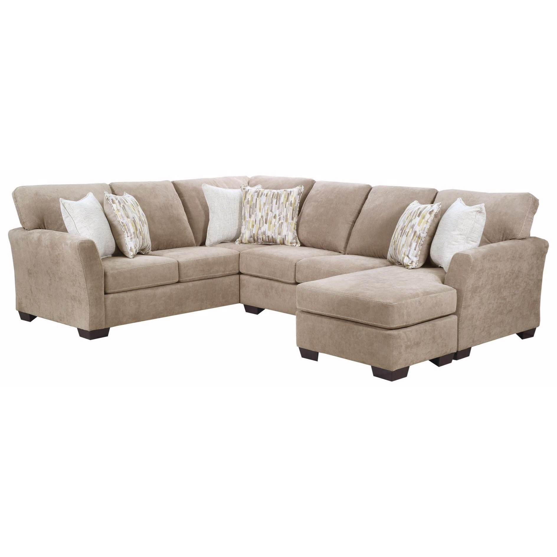 7058 2-Piece Sectional  by Lane at Esprit Decor Home Furnishings