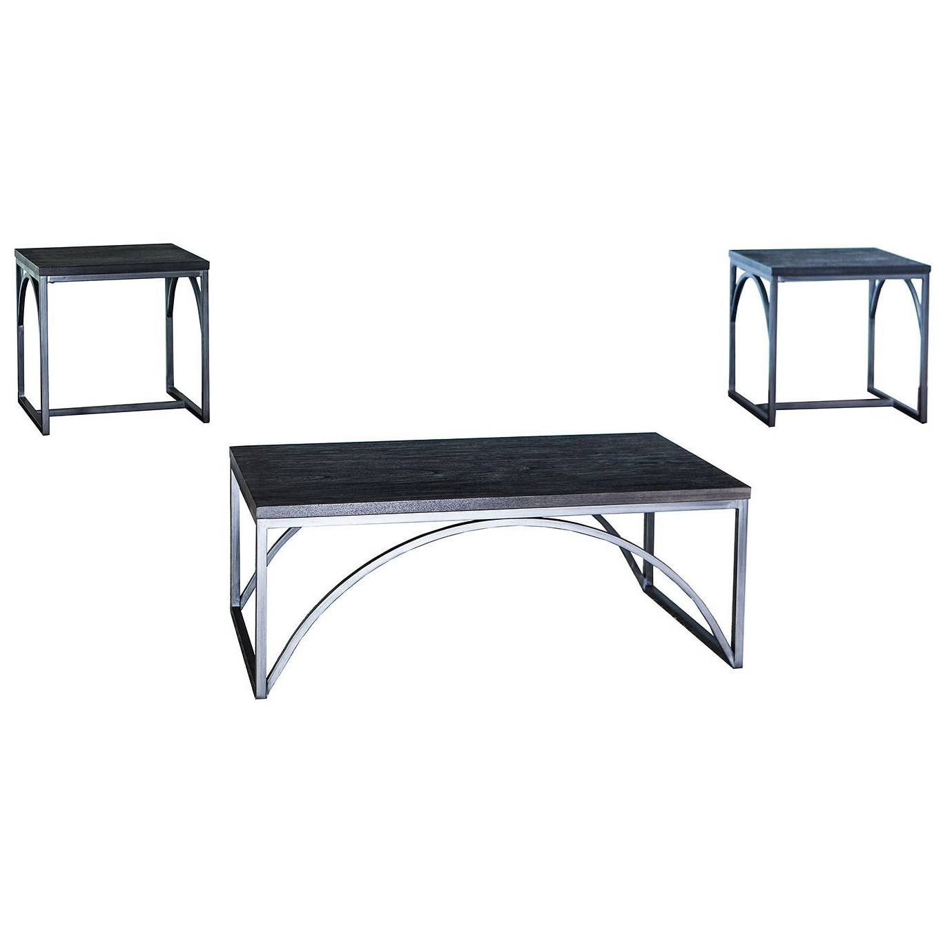7332 3 Pack Occasional Tables by Lane at Esprit Decor Home Furnishings
