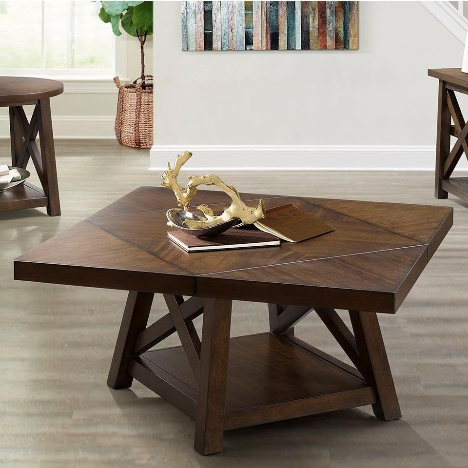 7588 Cocktail Table by Lane at Esprit Decor Home Furnishings