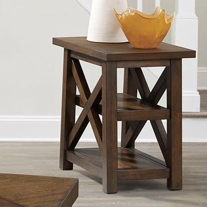7588 Chairside Table by Lane at Esprit Decor Home Furnishings
