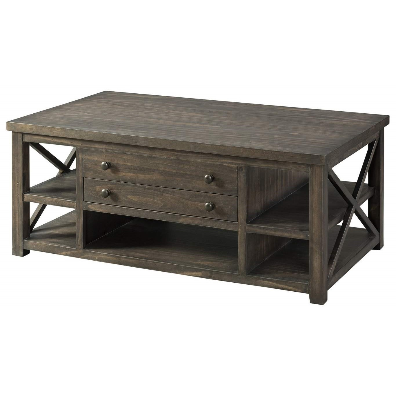 7607 Cocktail Table by Lane at Esprit Decor Home Furnishings