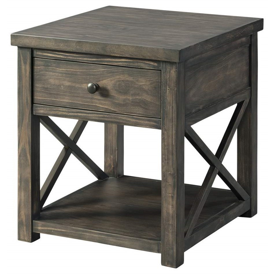 7607 End Table by Lane at Powell's Furniture and Mattress