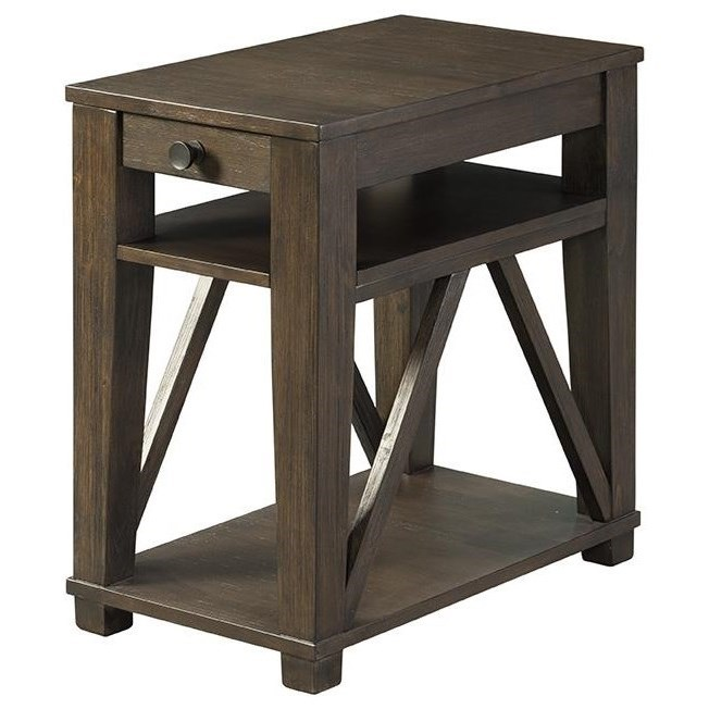 7608 Chairside Table by Lane at Esprit Decor Home Furnishings