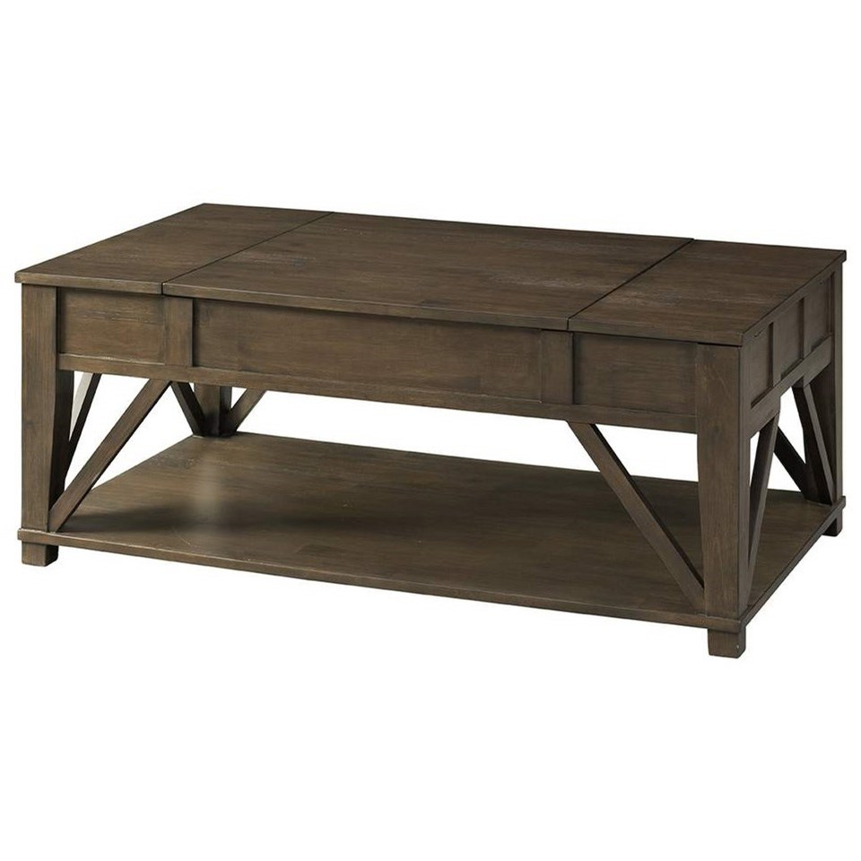 7608 Cocktail Table by Lane at Esprit Decor Home Furnishings
