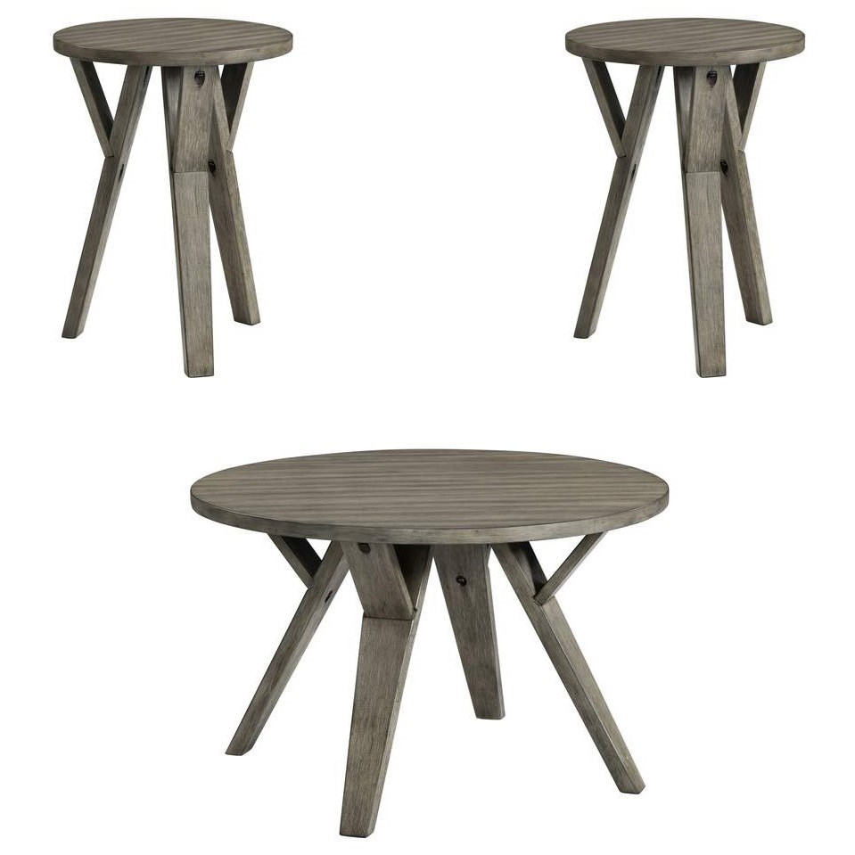7642 Cocktail and End Table Set by Lane at Esprit Decor Home Furnishings