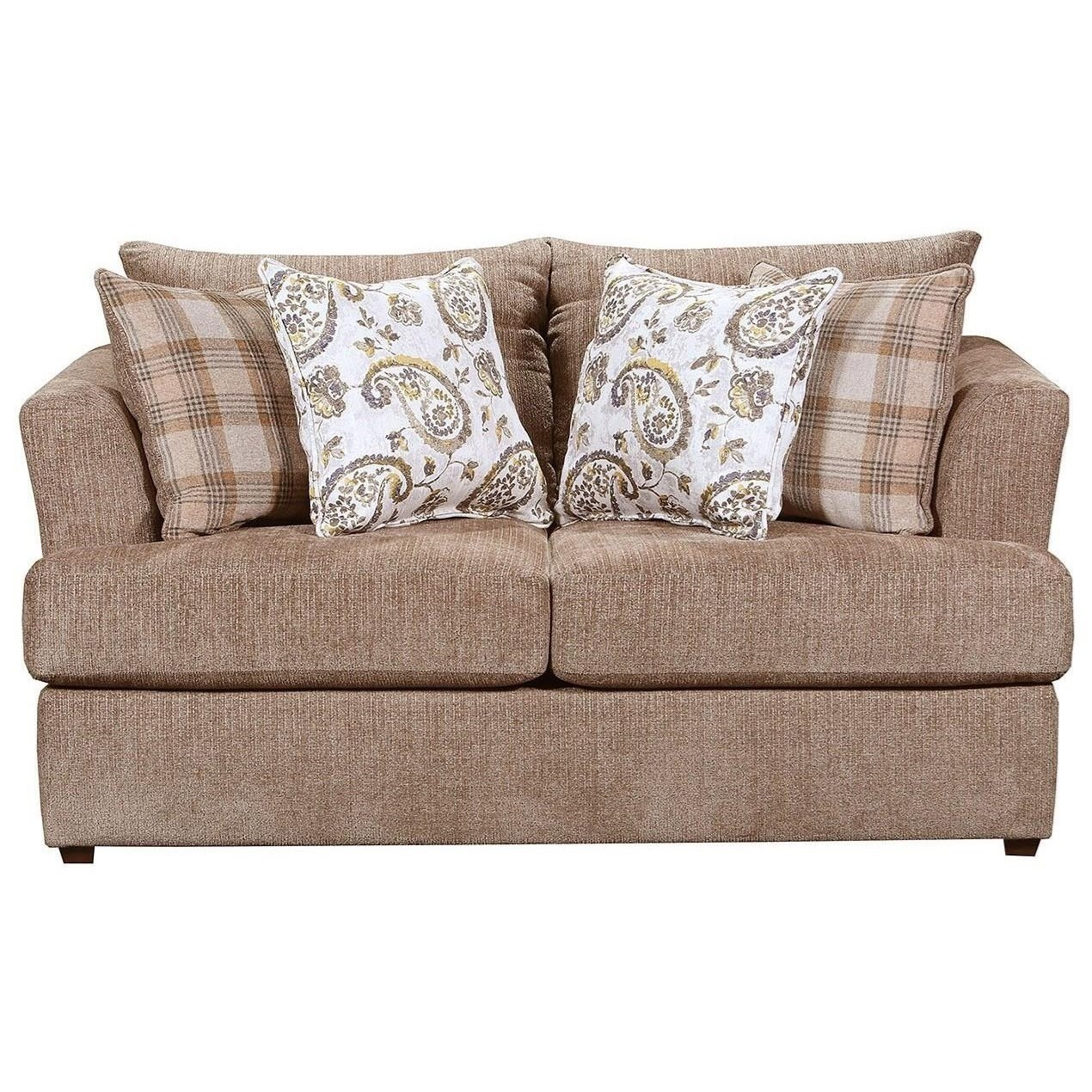 8009 Stationary Loveseat by Lane at Esprit Decor Home Furnishings