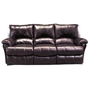 Contemporary Double Reclining Sofa