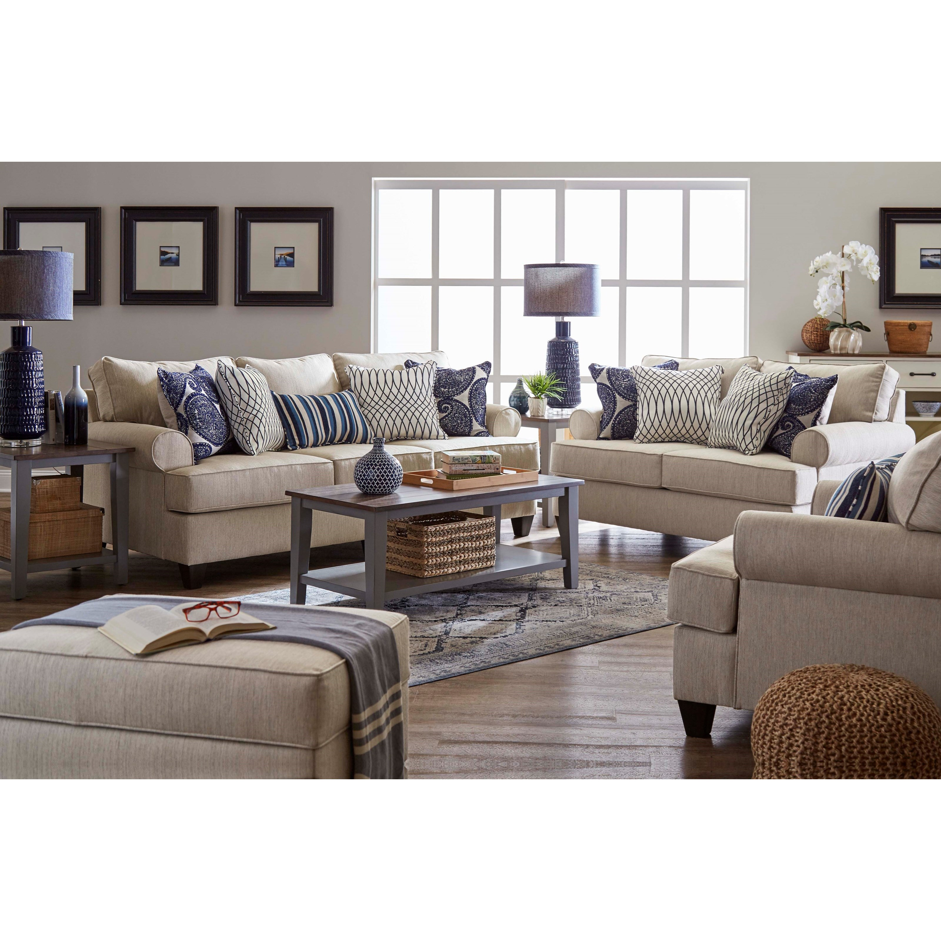 Anakena Living Room Group by Lane at Powell's Furniture and Mattress