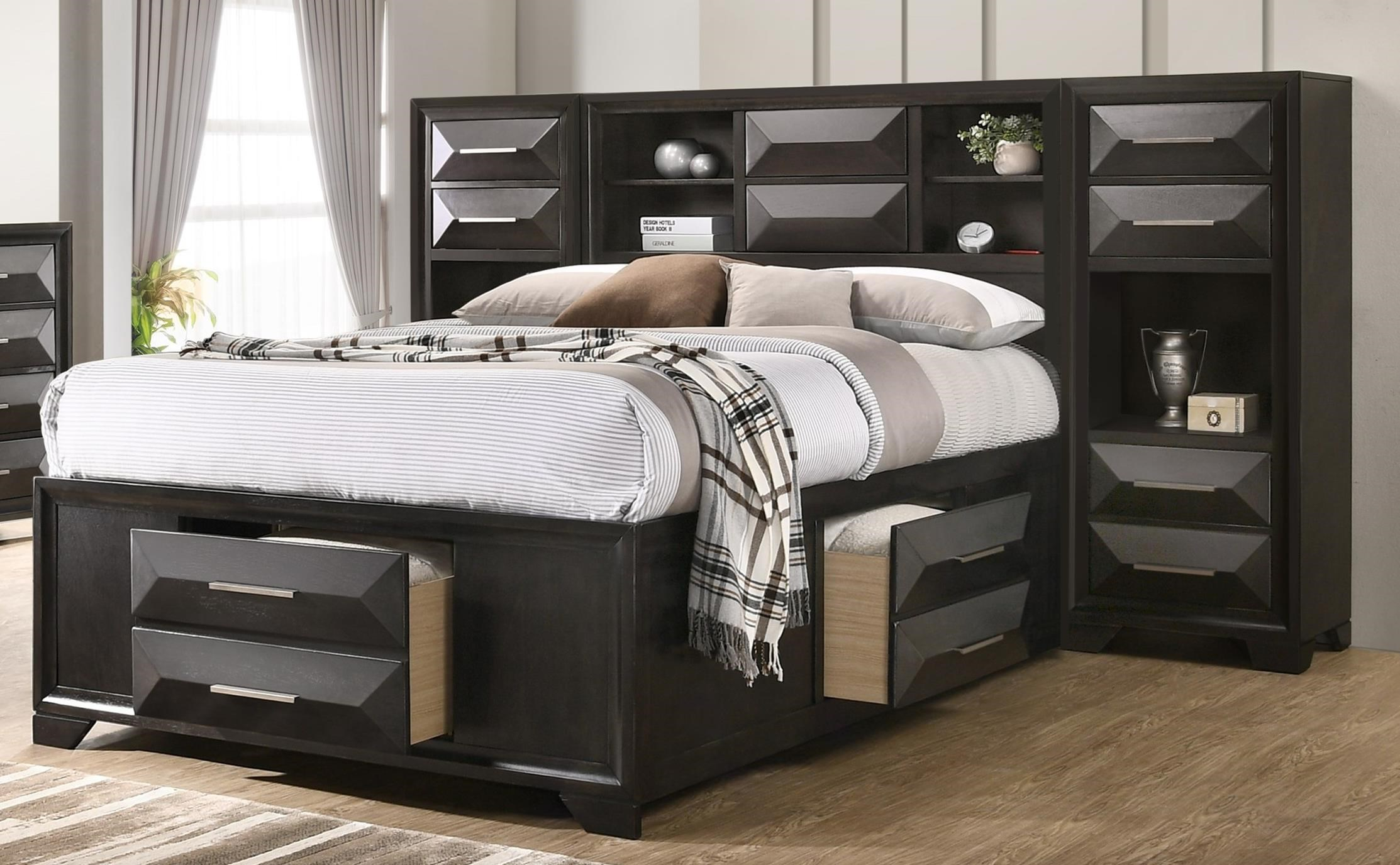 Aria Queen Pier Bed by Lane at Powell's Furniture and Mattress