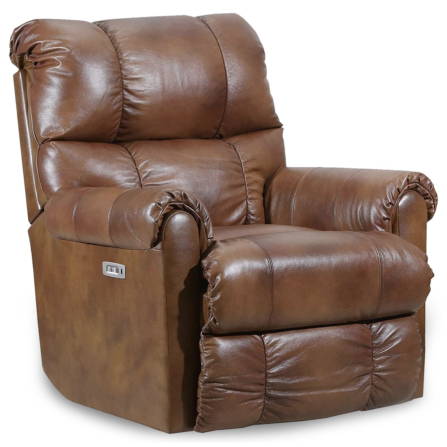 Avenger Power Glider Recliner with Heat and Massage by Lane at Powell's Furniture and Mattress