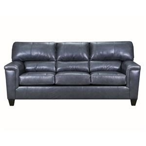 Gray Fog Leather Sofa