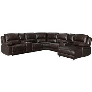 Reclining 4 Pc Sectional