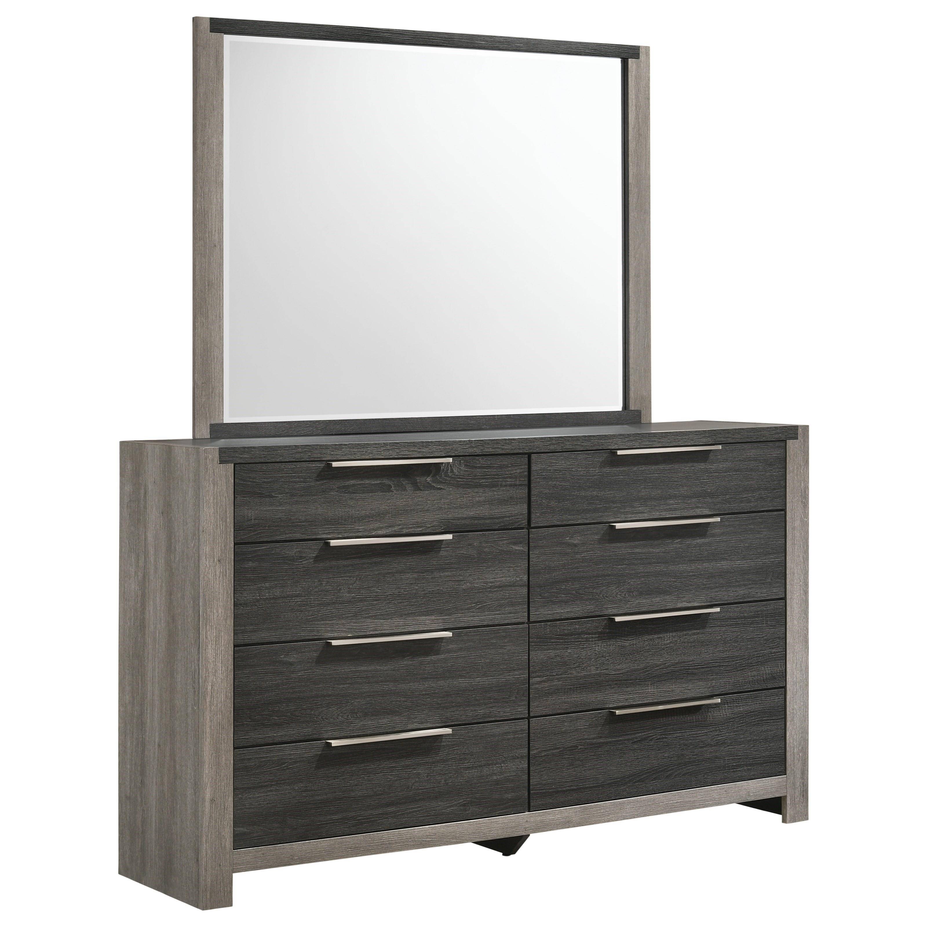 Carter Dresser and Mirror by Lane at Household Furniture