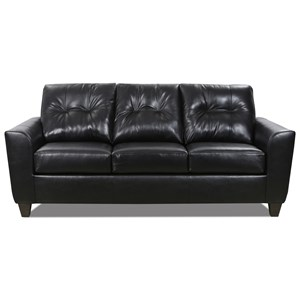 Transitional Sofa with Blind Tufting