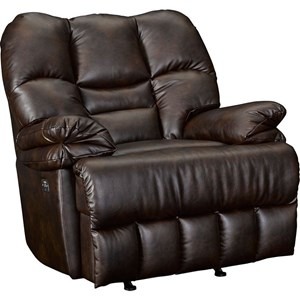 Oversized Wall Saver Recliner with Red Steel Spring System