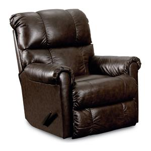 Lane Eureka Casual Pad-Over-Chaise Wallsaver Recliner