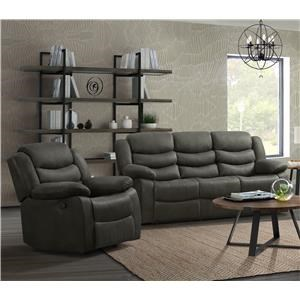 2 Piece Reclining Living Room Group