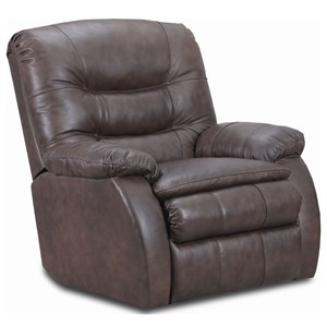 Rocker Recliner with Cushioned Arms