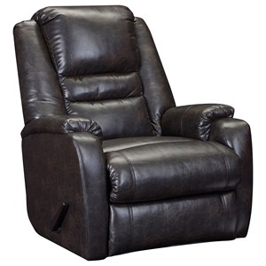 Transitional Rocker Recliner with Zero Gravity
