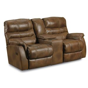 Lane Garrett Garrett Double Reclining Console Loveseat