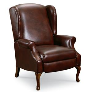 Lane Hampton Traditional High Leg Recliner Chair