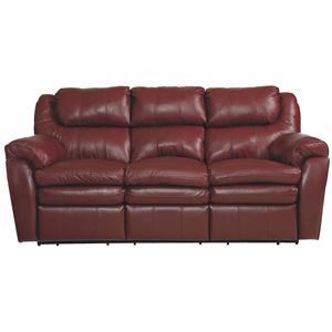 Lane Hendrix Double Reclining Sofa W/Storage Drawer