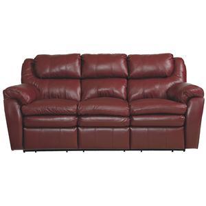 Lane Hendrix Double Reclining Sofa W/Storage Drawer