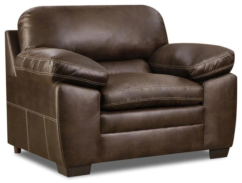 Ian - Ezra Pillow Arm Chair at Rotmans