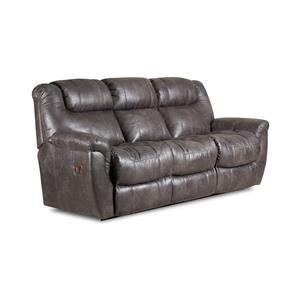 Double Reclining Sofa with Drop Down Table and Massage