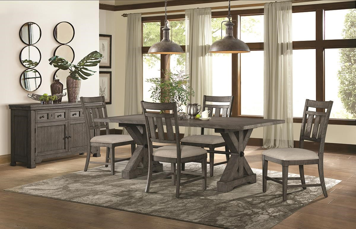 Old Forge 5 Piece Dining Set Includes Table And 4 Side by Lane at Darvin Furniture