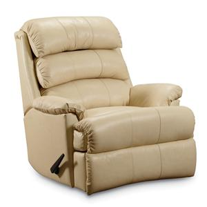 Lane Revive Casual Pad-Over-Chaise Rocker Recliner